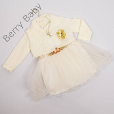 Kislány alkalmi ruha- kb. 3 éves gyermekre -2 részes