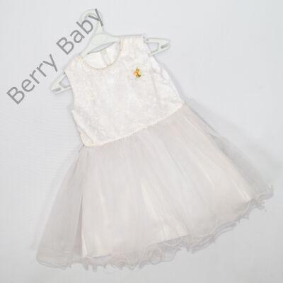 Alkalmi kislány ruha-fehér