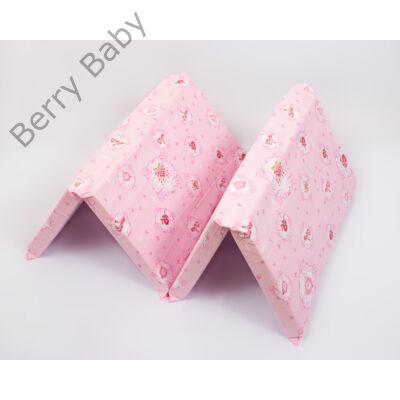 Berry Baby Harmonika matrac utazóágyba: rózsaszín hercegnős