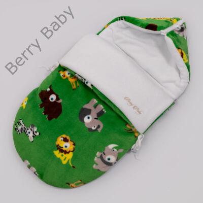 Berry Baby Klasszikus Bundazsák babahordozóba és mózesbe: Zöld szafari
