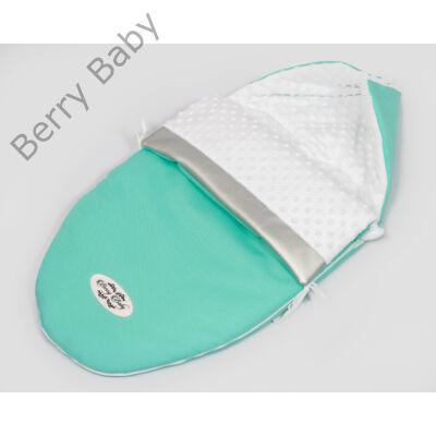Berry Baby Crown bundazsák: MINT -babahordozó autós ülésbe és mózesbe
