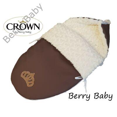 Berry Baby Crown bundazsák: 03/A. Chocolate Rose -babahordozó autós ülésbe és mózesbe-