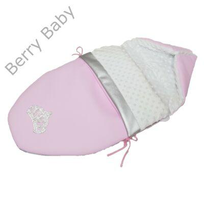Berry Baby Crown bundazsák: Candy -babahordozó autós ülésbe és mózesbe- ECO bőrből