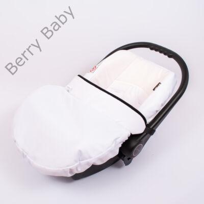 Univerzális Berry Baby lábzsák babahordozóra: fehér