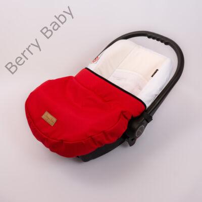 Univerzális Berry Baby lábzsák babahordozóra: piros