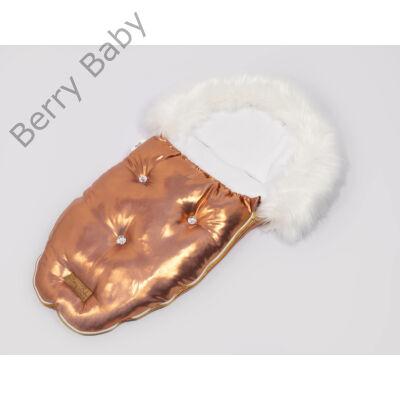 Berry Baby Luxus bundazsák babahordozóba-mózesbe: GOLDEN ROSE WITH CRYSTALS