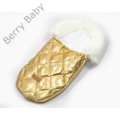 Berry Baby Luxus bundazsák babahordozóba-mózesbe: GOLD QUILTED