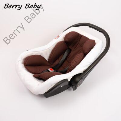Berry Baby Pamut újszülött szűkítőbetét hordozóba 0-4 hó- CSOKI  (univerzális)