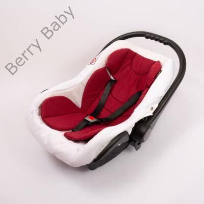 Berry Baby Pamut szűkítőbetét /alátét hordozóba 4-12 hó- BORDÓ  (univerzális)