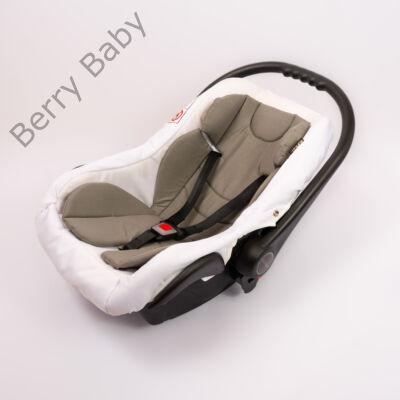 Berry Baby Pamut szűkítőbetét /alátét hordozóba 4-12 hó- SZÜRKE  (univerzális)