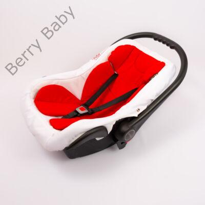 Berry Baby Pamut szűkítőbetét /alátét hordozóba 4-12 hó- PIROS  (univerzális)