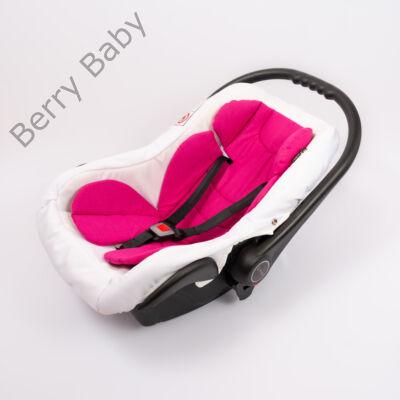 Berry Baby Pamut szűkítőbetét /alátét hordozóba 4-12 hó- PINK  (univerzális)