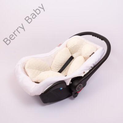 Berry Baby Minky újszülött szűkítőbetét babahordozóba 0-4 hó: ekrü  (univerzális)