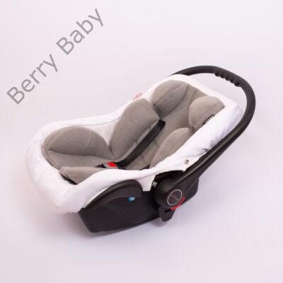 Berry Baby Polár újszülött szűkítőbetét babahordozóba 0-4 hó: szürke  (univerzális)