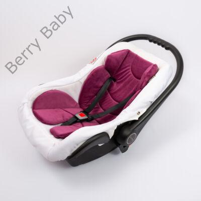 Berry Baby Plüss szűkítőbetét/alátét babahordozóba 4-12 hós: lila  (univerzális)