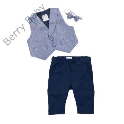 Alkalmi kisfiú ruházat-kék