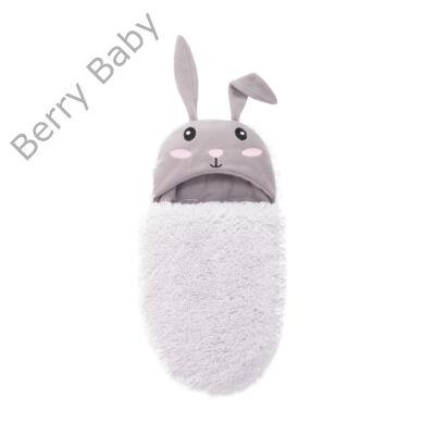 Berry Baby BUNNY bundazsák - szürke nyuszi