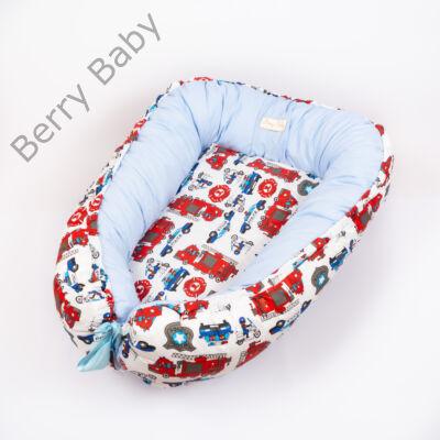 Berry Baby EXCLUSIVE Babafészek kókusz matraccal: Police