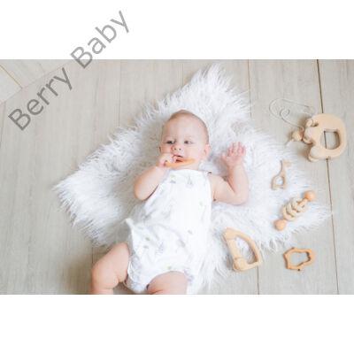 Szőrös szőnyeg babafotózáshoz -fehér