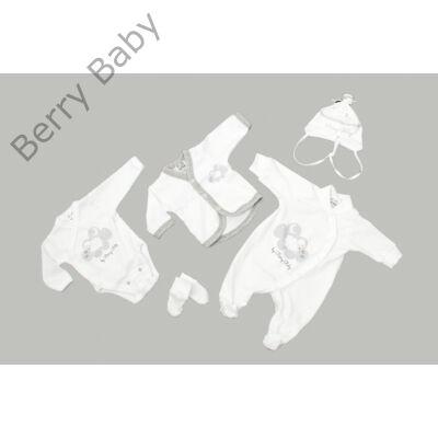 Prémium 5 részes hazahozós ruha szett- SHEEP- 50 (újszülött)
