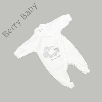 Rugdalózó kezeslábas hazahozós újszülött ruha: 50- SHEEP