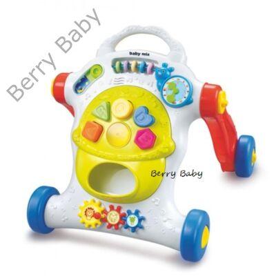 Baby Mix zenélő járássegítő: zöld