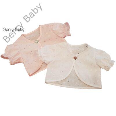 Alkalmi/ keresztelő bolero: rózsaszín 4-5 éves