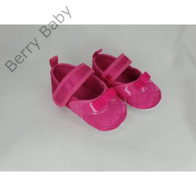 18-as: Pink puhatalpú kiscipő  masnival -import termék-