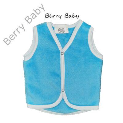 Berry Baby wellsoft mellény- kék 0-6 hó