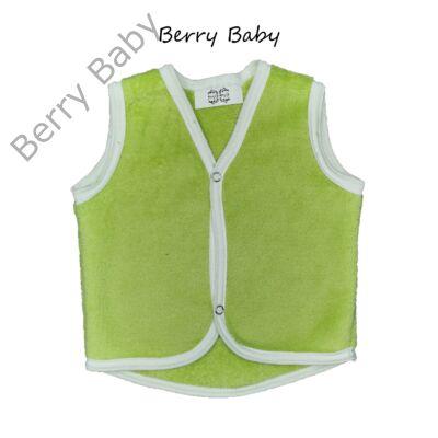 Berry Baby wellsoft mellény - zöld 1-2 éveseknek