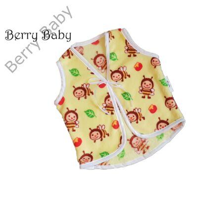 Berry Baby sárga méhecskés wellsoft mellény 2-3 év