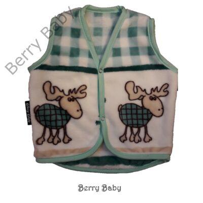 Berry Baby wellsoft mellény - Kék rénszarvasos 1-2 éveseknek