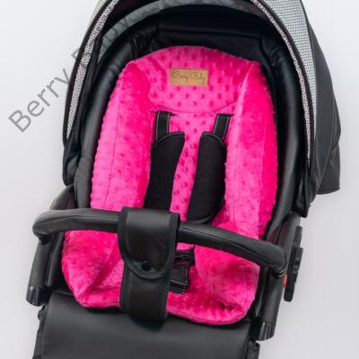 Berry Baby babakocsi szűkítőbetét: pink minky