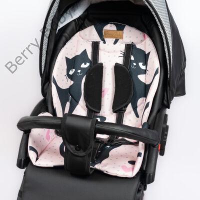 Zizi babakocsi alátét: BLACK CAT