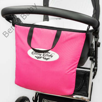 Berry Baby COMFORT SHOPPING BAG - Pink színben
