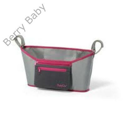 BabyOno babakocsi tároló: szürke-pink