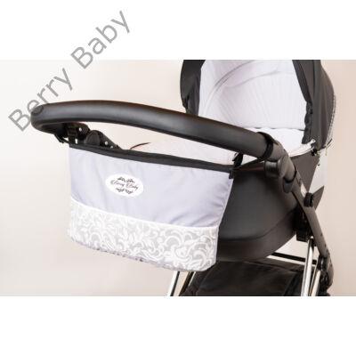 Berry Baby Comfort babakocsi tároló: SZÜRKE+EZÜST INDÁS -univerzális