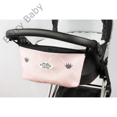 Berry Baby Comfort babakocsi tároló: Rózsaszín chesterfield