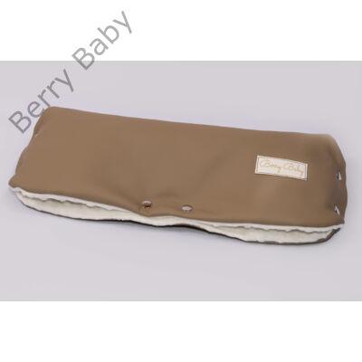 Babakocsira rögzíthető Berry Baby kesztyű- ECO bőr: natural beige (univerzális)