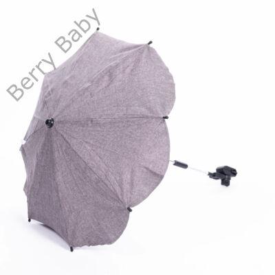 Univerzális napernyő babakocsira: barna len