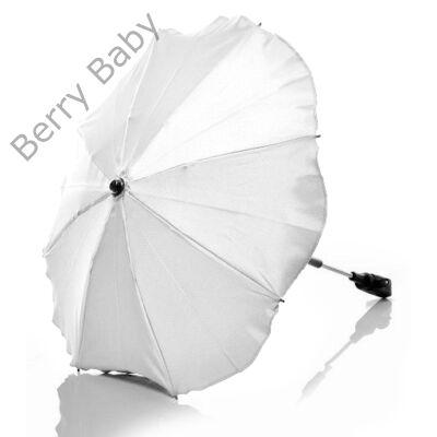Univerzális napernyő babakocsira: fehér