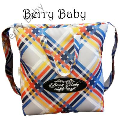 Berry Baby Klasszikus pelenkázó táska a Kunert Lavado babakocsi színében : szivárványos