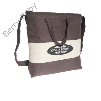 Klasszikus pelenkázó táska a Kunert Lavado babakocsi színében (csoki -pöttyös) fce9bbb426