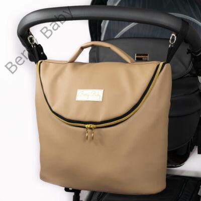 Berry Baby MAX 3in1 pelenkázó táska: Natural Beige