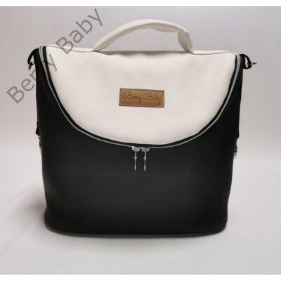 Berry Baby MAX 3in1 pelenkázó táska: Black and white