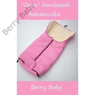 Berry Baby Open bundazsák babakocsiba: rózsaszín