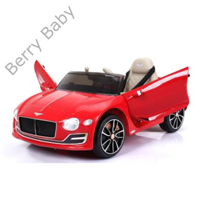 Elektromos Kisautó Bentley -Felfelé nyitható ajtókkal: PIROS