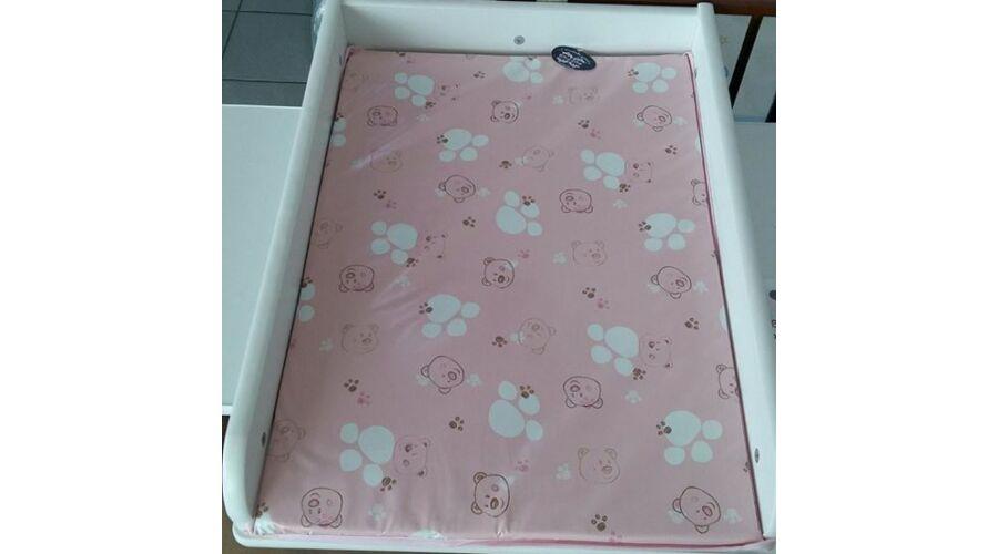 a255156876 PVC Pelenkázó lap: rózsaszín macis - Pvc pelenkázó lap