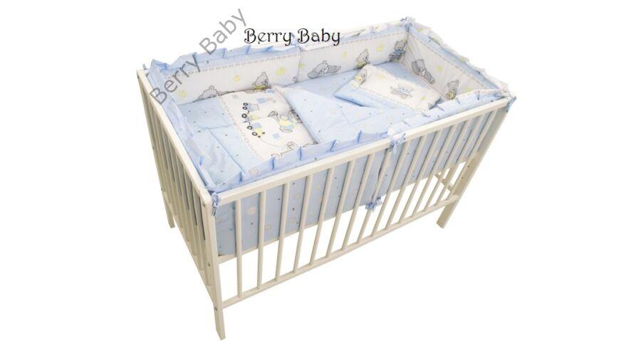 AKCIÓS  Kék macis babaágynemű szett (bővíthető) - AKCIÓS-3 részes ... a1ecda426d