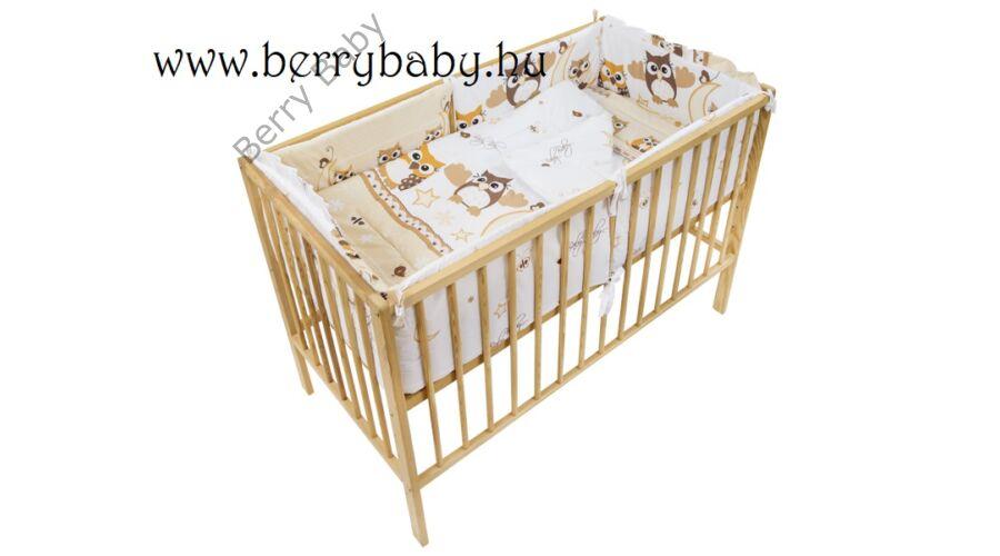 AKCIÓS  Barna nagy baglyos babaágynemű szett (bővíthető) - AKCIÓS-3 ... 7daee42925